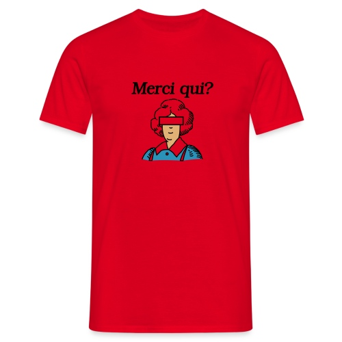 Merci qui - T-shirt Homme