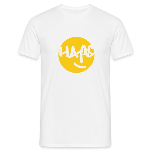 HAPS Yellow Logo - Men's T-Shirt