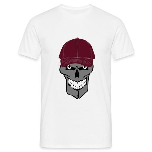 craneo gorra - Camiseta hombre