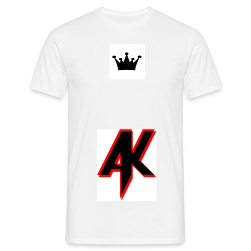 veloursmotiv krone jpg - Männer T-Shirt