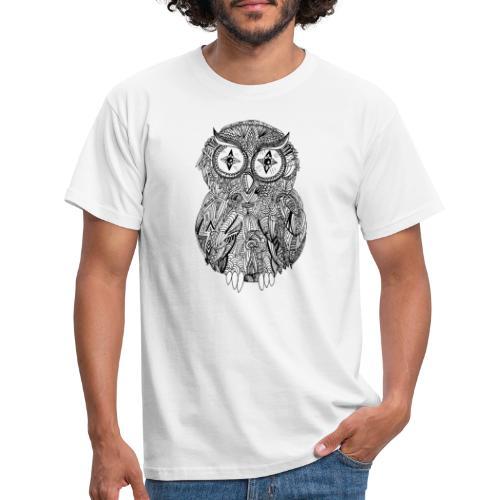 Eule - Männer T-Shirt