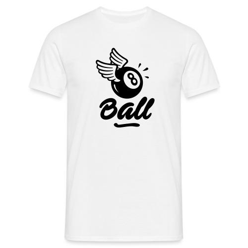8ball-noir - T-shirt Homme