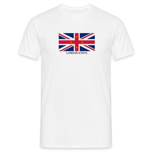 Anti-Brexit London Stays - Men's T-Shirt