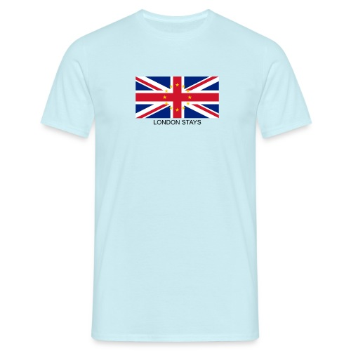 Anti-Brexit London Stays - Men's T-Shirt