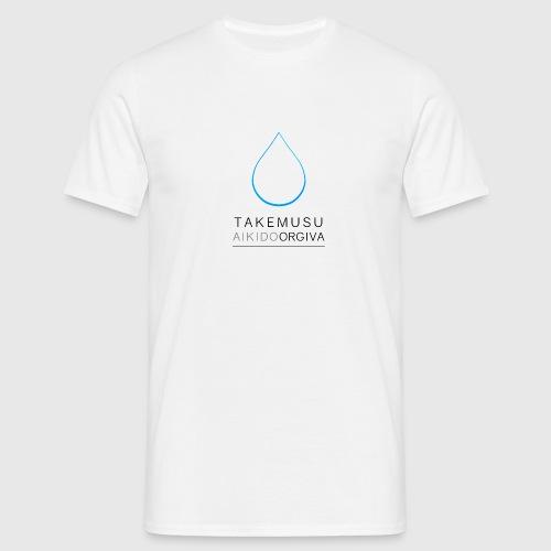 Takemusu Aikido Orgiva - Blue Water Drop - Men's T-Shirt