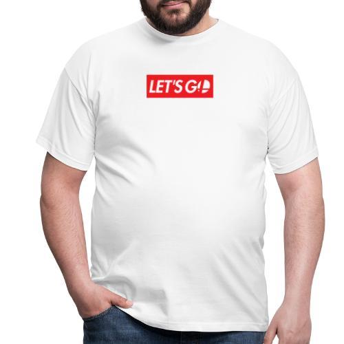 letsgo - Maglietta da uomo