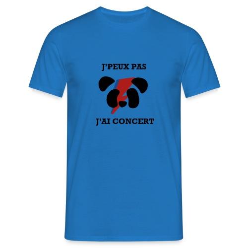 J'peux pas j'ai concert - T-shirt Homme
