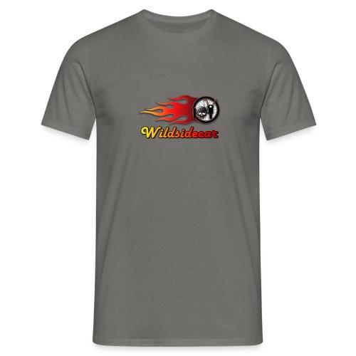 logo wildsidecar sans fond - T-shirt Homme