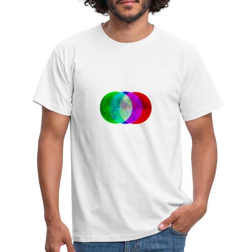 RGB moon - Koszulka męska