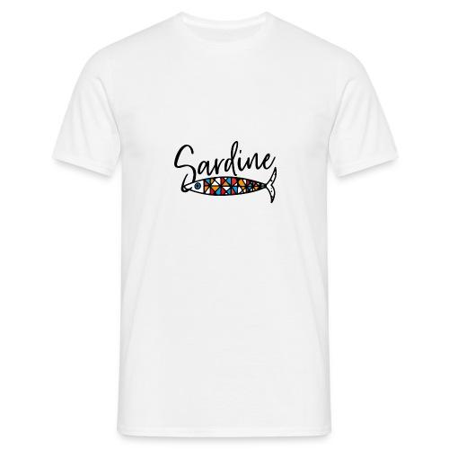 Sardine colorate all'amo - Maglietta da uomo