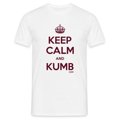 Keep Calm and Kumb - Men's T-Shirt