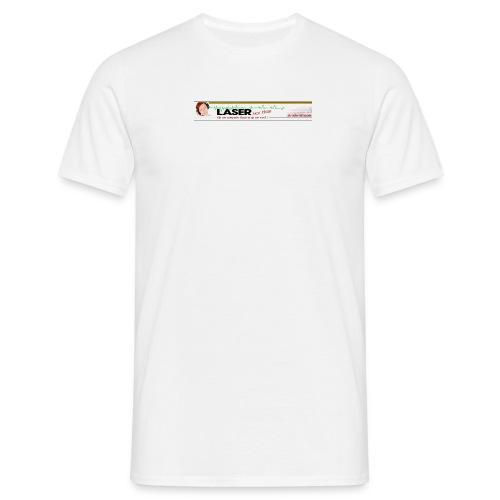 laserbovenbanneroldiestation - Mannen T-shirt