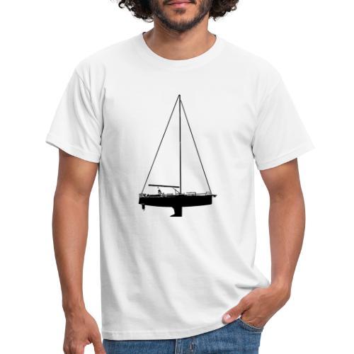 smooth ride - T-skjorte for menn