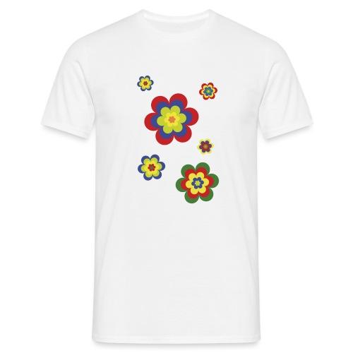 limited edition 3b flower power - Männer T-Shirt