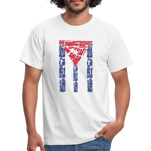 Salsa Cubana - Männer T-Shirt