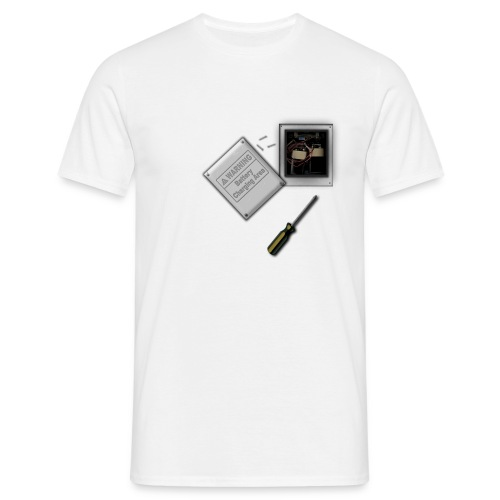 Battery Heart Economy T Shirt - Men's T-Shirt