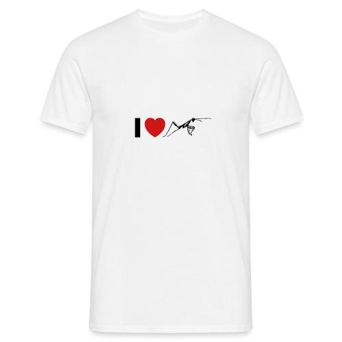 I ❤️ Mantis - Männer T-Shirt