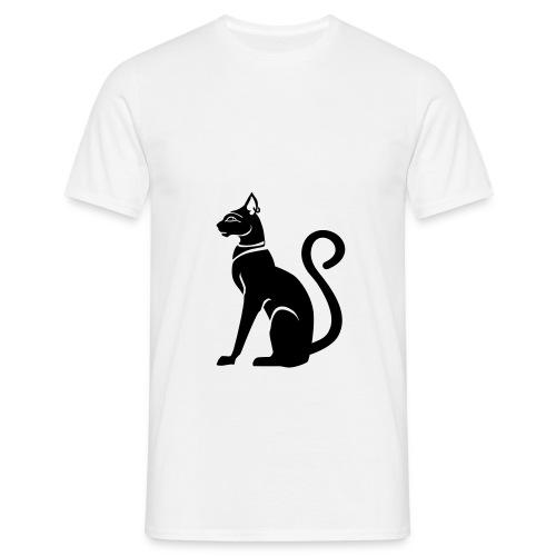 Bastet - Katzengöttin im alten Ägypten - Männer T-Shirt