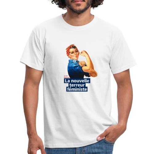 Je suis fièrement La nouvelle terreur féministe - T-shirt Homme