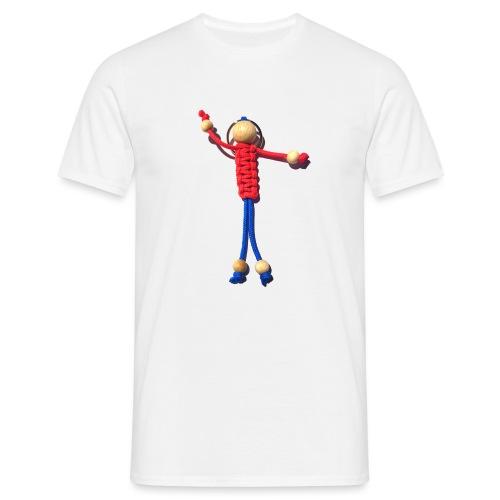 Knotenmann - Männer T-Shirt