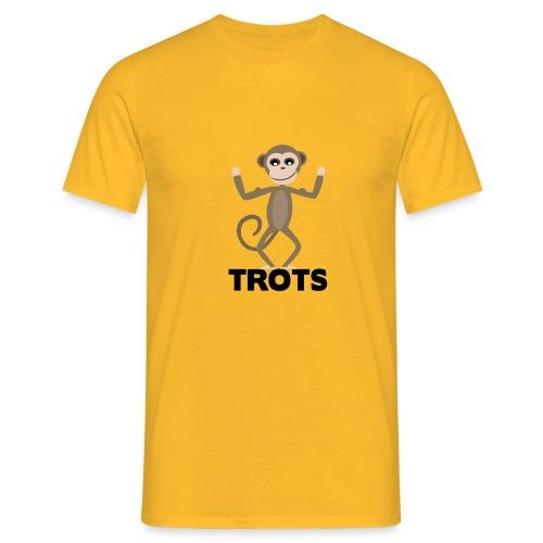 apetrots aapje wat trots is - Mannen T-shirt