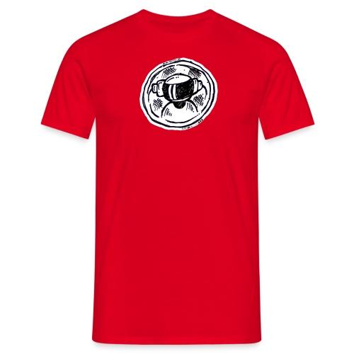 Machine Boy Ruff White - Men's T-Shirt