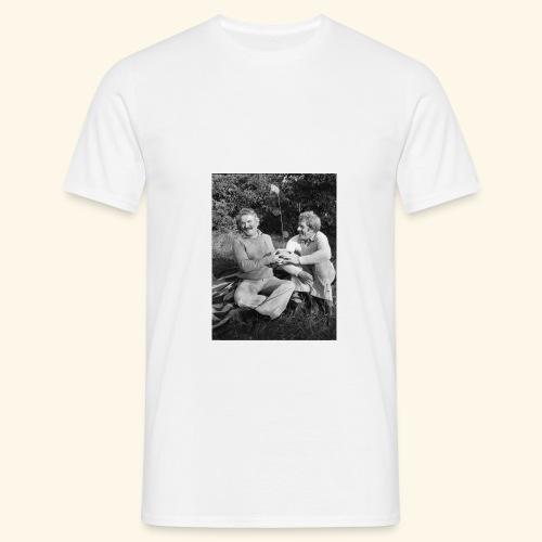 hasse och tage blomma - T-shirt herr