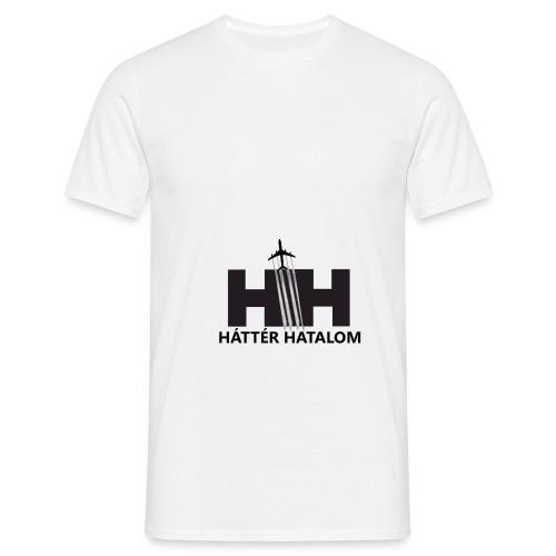 HáttérHatalom - Chemtrail - Men's T-Shirt