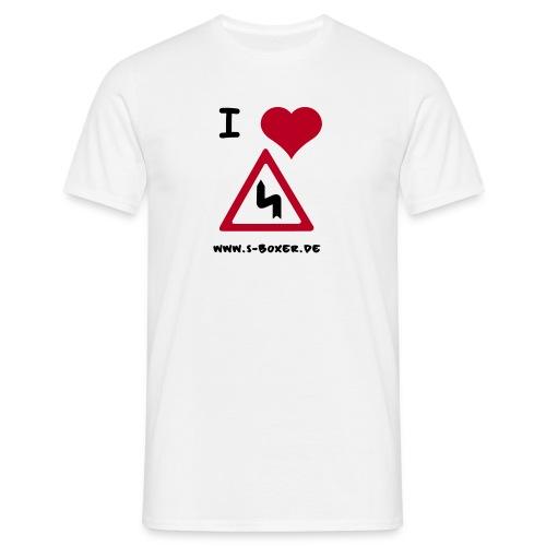 kurve - Männer T-Shirt