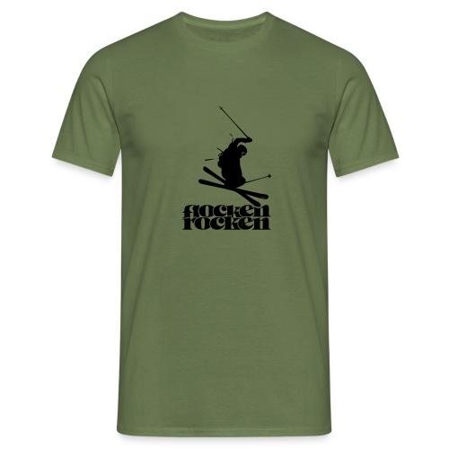 Flocken rocken - Männer T-Shirt