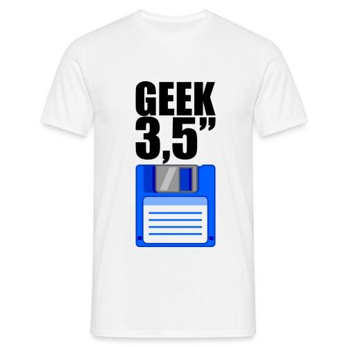 Disquette 3,5 pouces GEEK - noir - T-shirt Homme