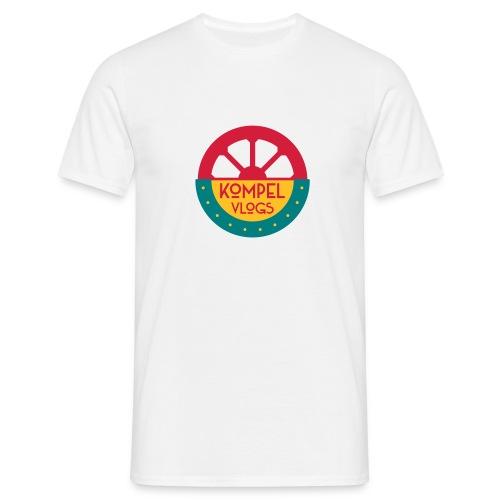 Kompel Vlogs Logo - Mannen T-shirt
