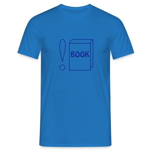 Not (Programmiersprache: Rufzeichen) book - Männer T-Shirt