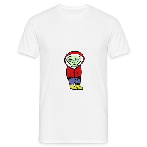 Bored Alien - Männer T-Shirt