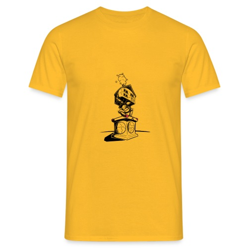 sokkel drager - T-shirt Homme