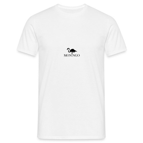 Moningo Flamingo - T-skjorte for menn