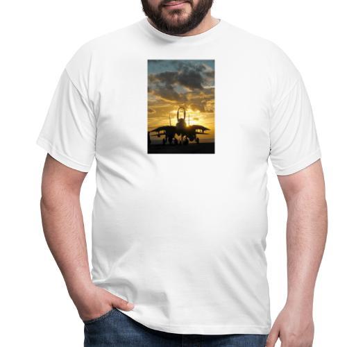 tomcat sunset - Camiseta hombre
