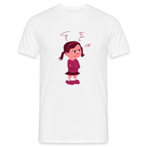 Lass mich - bin angepisst - Männer T-Shirt