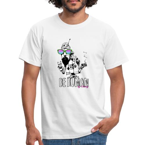 robot hippie - Maglietta da uomo