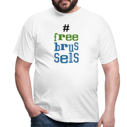 Bruxelles libre - T-shirt Homme