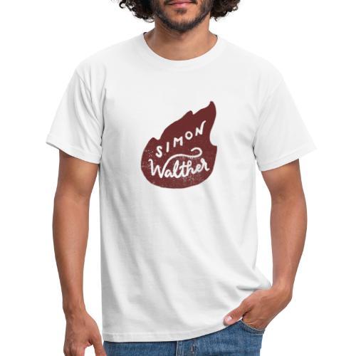 Simon Walther - Byen brenner - Men's T-Shirt