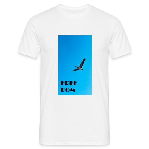 freedom - el pelicano - Männer T-Shirt