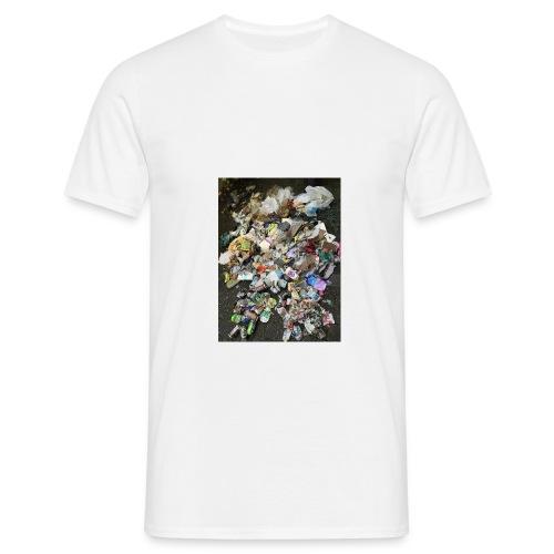 skraldklubben merch - Herre-T-shirt