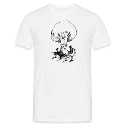 Sage Tree - Men's T-Shirt