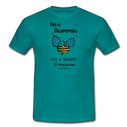 Bees6-2 Save the bees - Men's T-Shirt