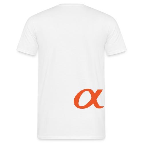 α - Männer T-Shirt