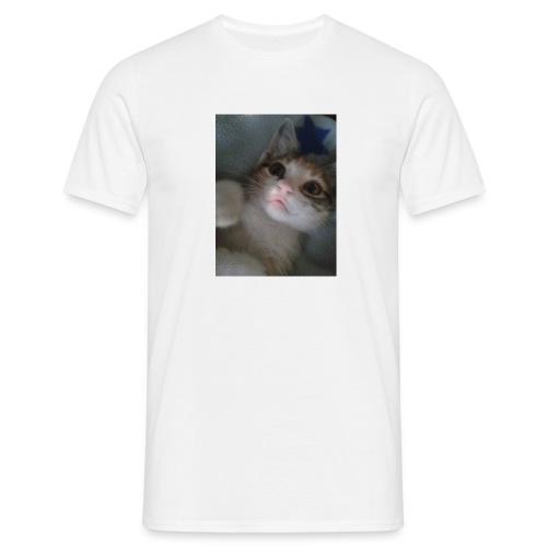 gatita tierna - Camiseta hombre