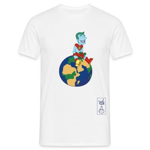 champion de la terre - T-shirt Homme