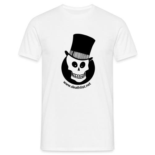 skully vector - Men's T-Shirt