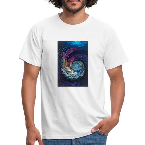 espiral ocea nica - Camiseta hombre
